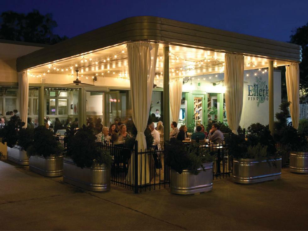 Ellerbe Fine Foods Fort Worth patio Magnolia