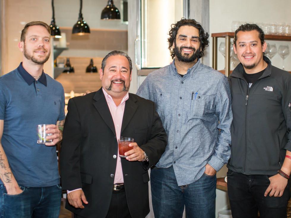 Alex Fletcher, Jesse Minton, Ravinder Singh, Christian Armando