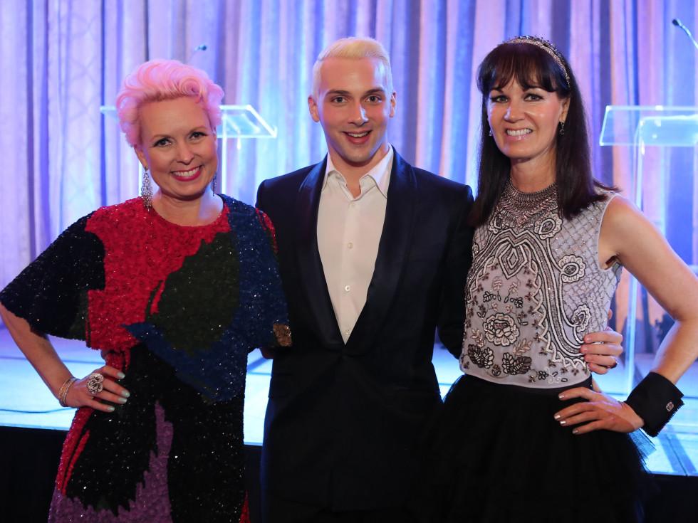 Blue Cure Gala, April 2016, Vivian Wise, Jonathan Blake, Beth Muecke