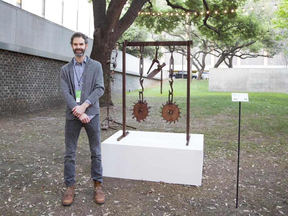 Scott Ogden of Shrine Gallery in NYC