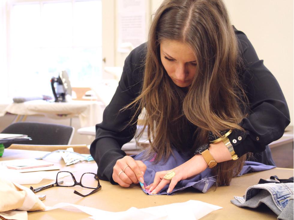 University of Texas fashion show Elements preview class April 2016 Raluca Popoviciu