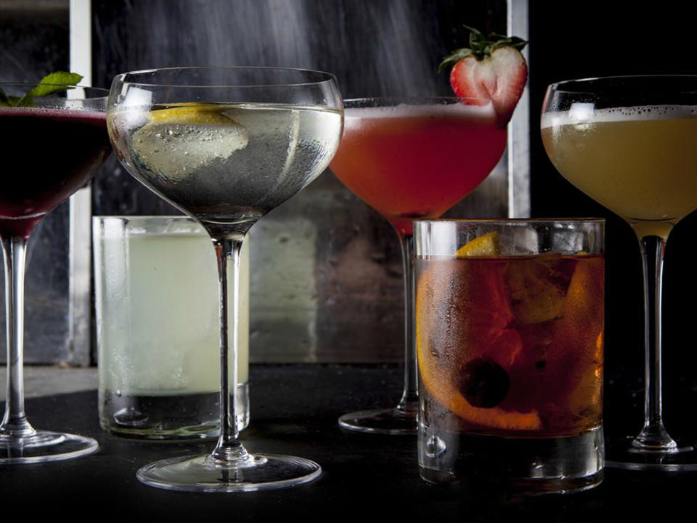 Employees Only New York City bar cocktail drink lineup