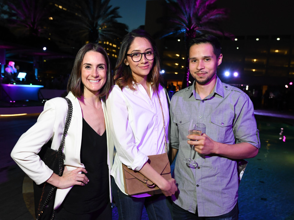 Four Seasons Spa party, April 2016, Jenny Weber, Jenny Beltran, Erick Beltran