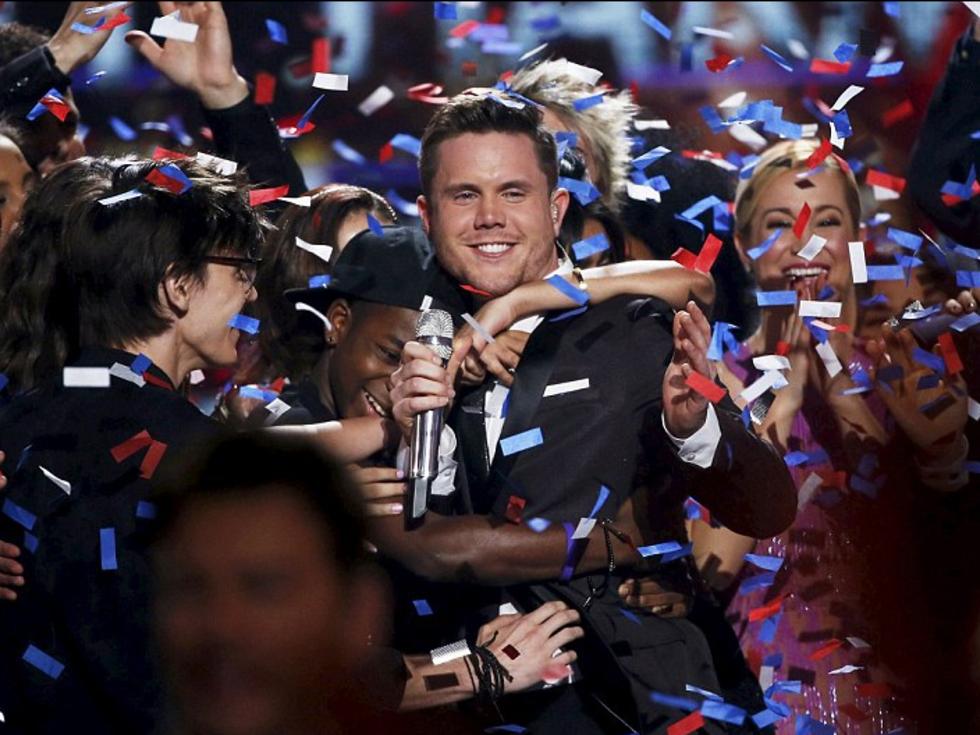 American Idol final winner Trent Harmon