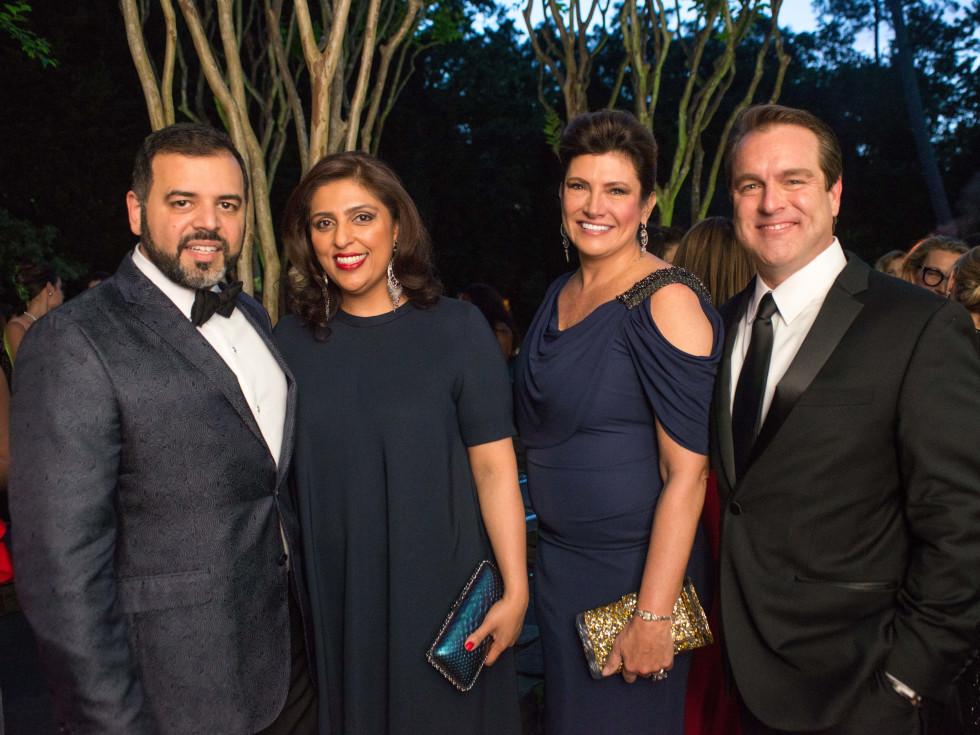 Van Cleef & Arpels party, April 2016, Pershant Mehta, Nidhika Mehta, Rosemary Johnson, Gerry Mulllins