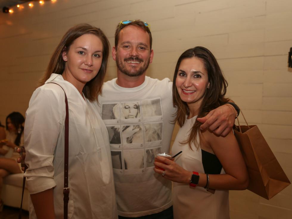 CultureMap Social: The Art Edition at Palm Door Maddison Hughes Kyle Combs Nancy Rodill