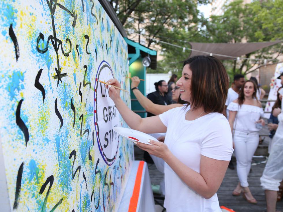 CultureMap Social: The Art Edition at Palm Door Whitney Grossman
