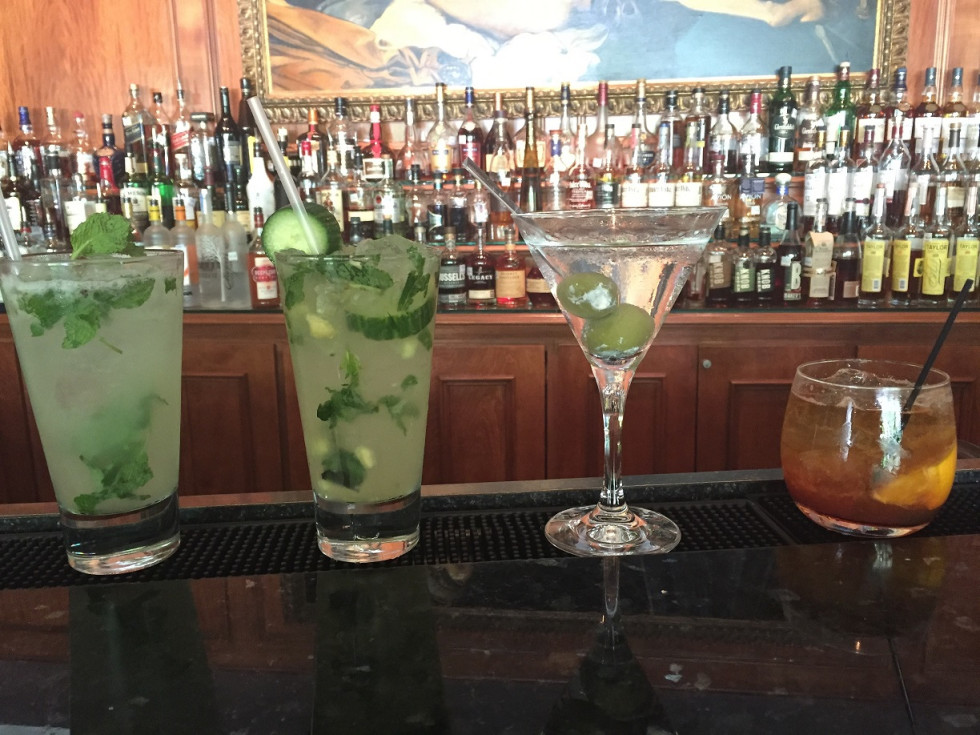 Final Four cocktails at the Houstonian
