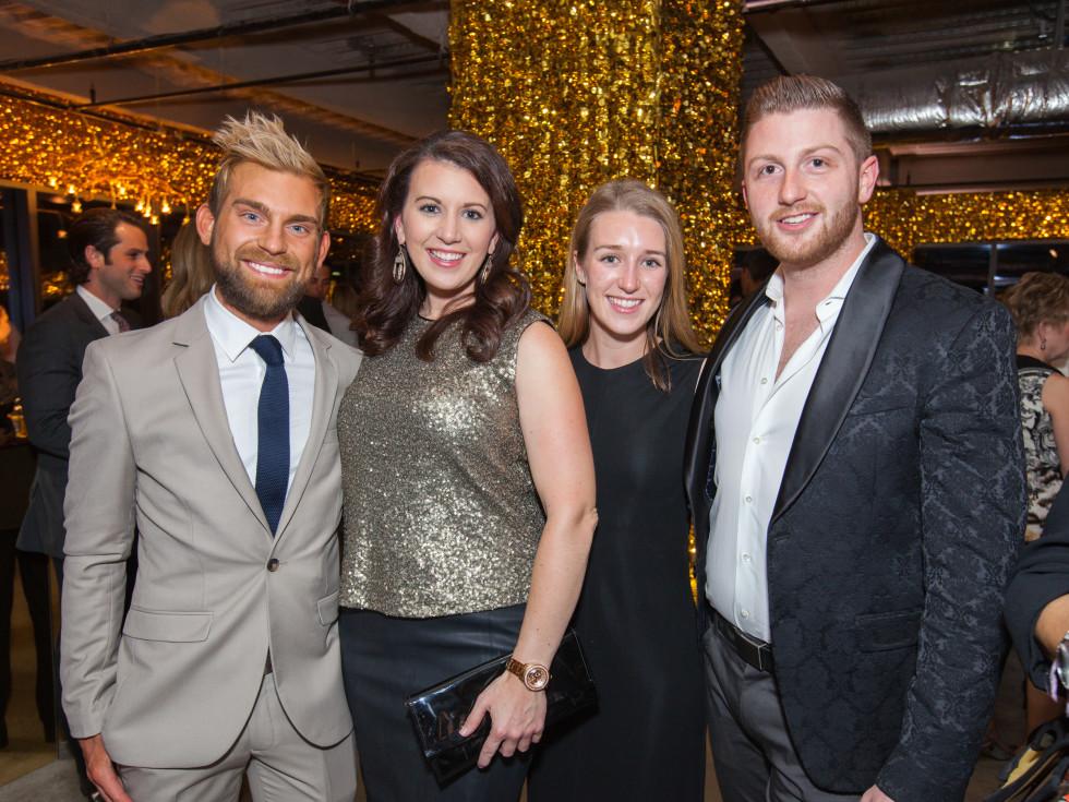 River Oaks District Gold Standard, March 2016,  Taylor Hudgins, Randi McBroom,  Lauren Hogan, Taylor DeMartino