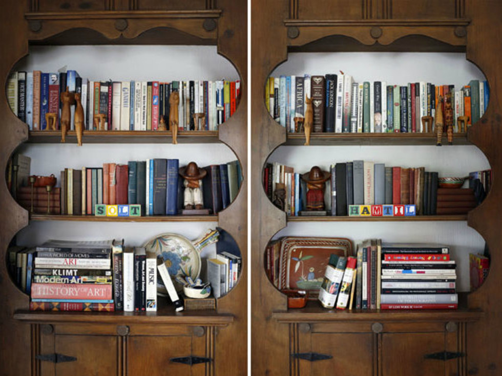 5106 Milam Charles Dilbeck house bookcases