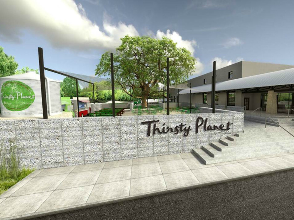 Thirsty Planet Brewing Company South Austin location rendering March 2016