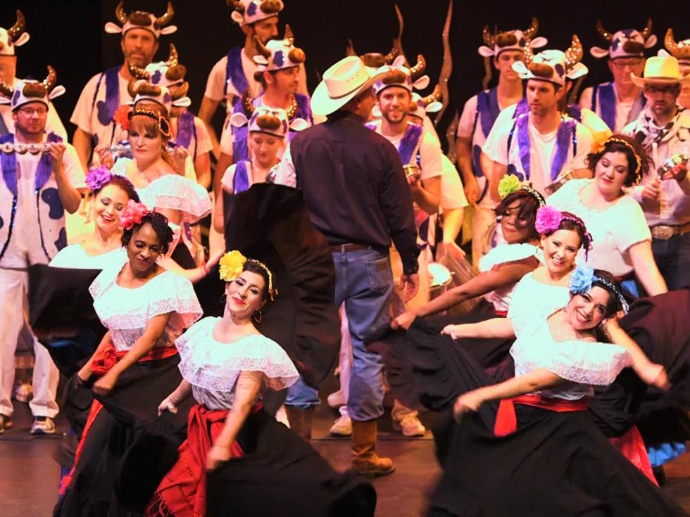 KLRU PBS Arts in Context Austin Samba School Texas! A Horse Opera Cielito Lindo 2016