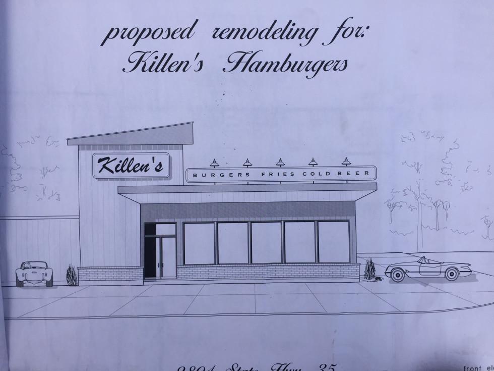 Killen's Burger rendering