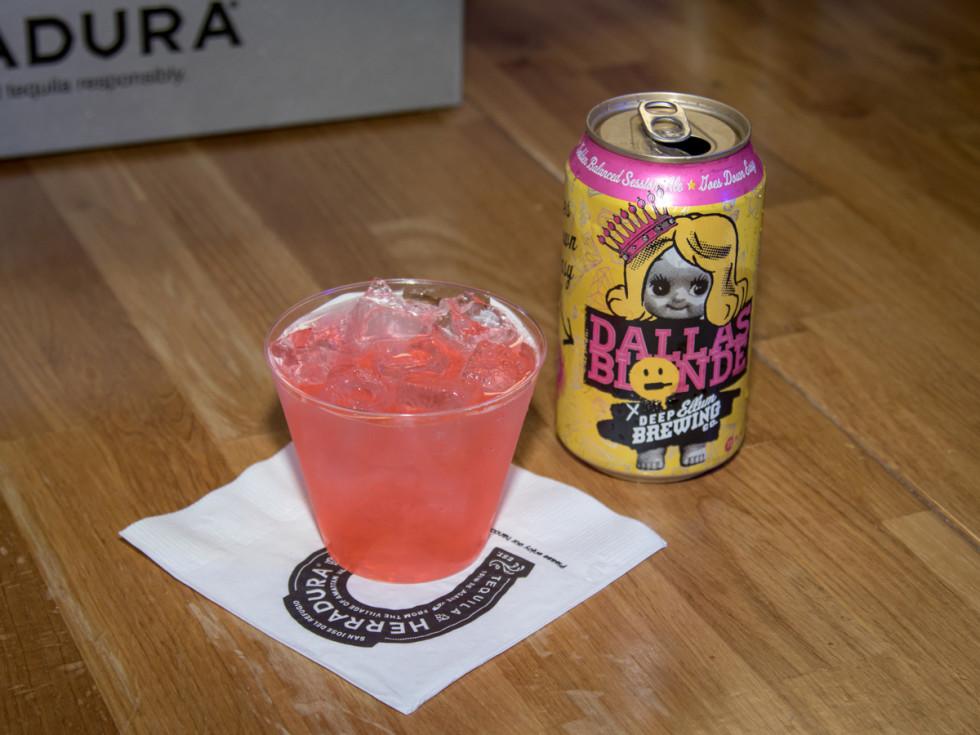 CultureMap Dallas Ultra Social drinks