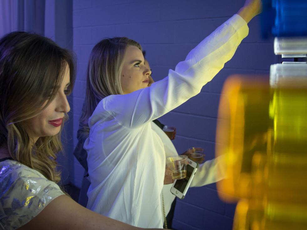 CultureMap Dallas Ultra Social light wall