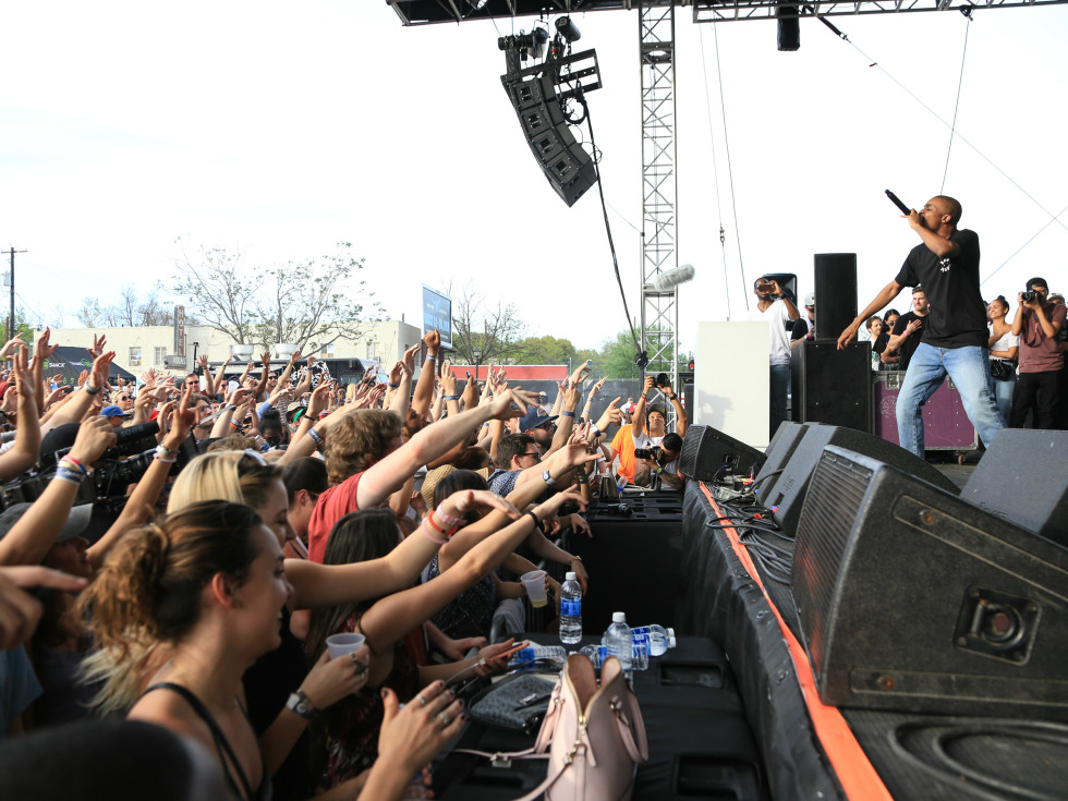Spotify House SXSW party Vince Staples March 2016