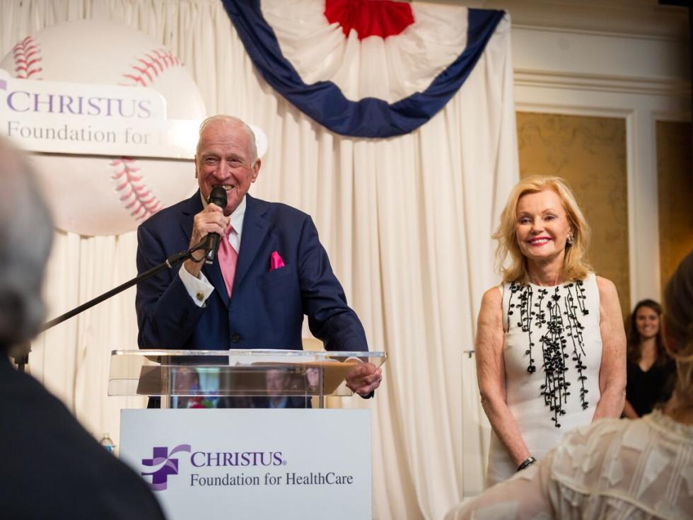 Christus Foundation Luncheon, March 2016, Dan Breen, Pat Breen