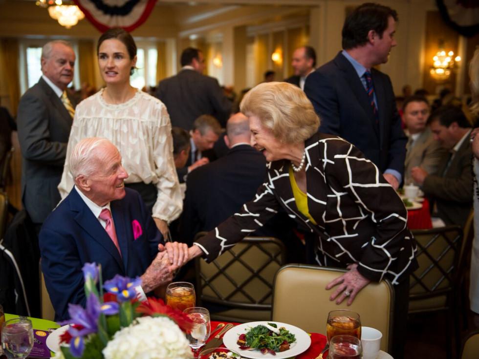 Christus Foundation Luncheon, march 2016, Dan Breen, Raye White