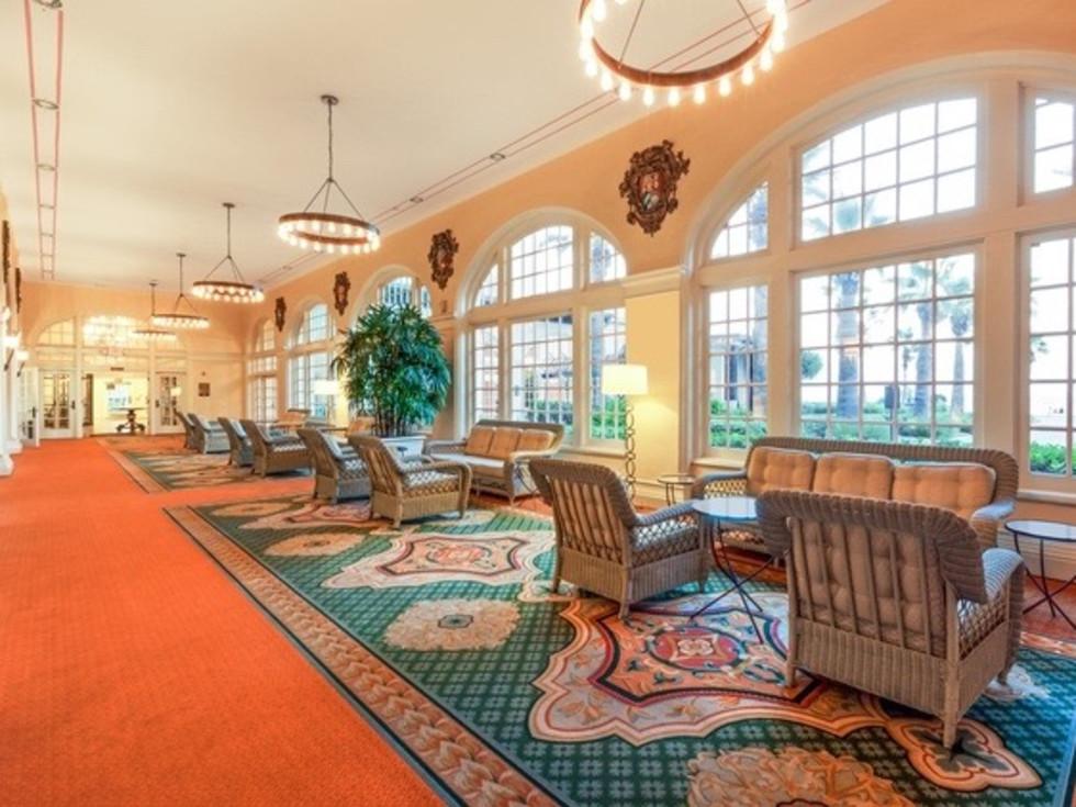 Hotel Galvez lobby