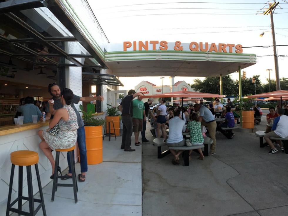 Pints & Quarts patio