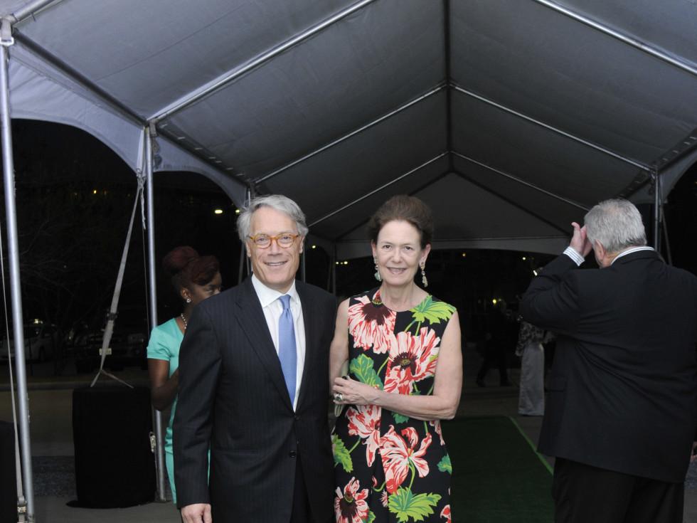Hermann Park 100th Anny, March 2016, Stephen Newton, Betty Newton