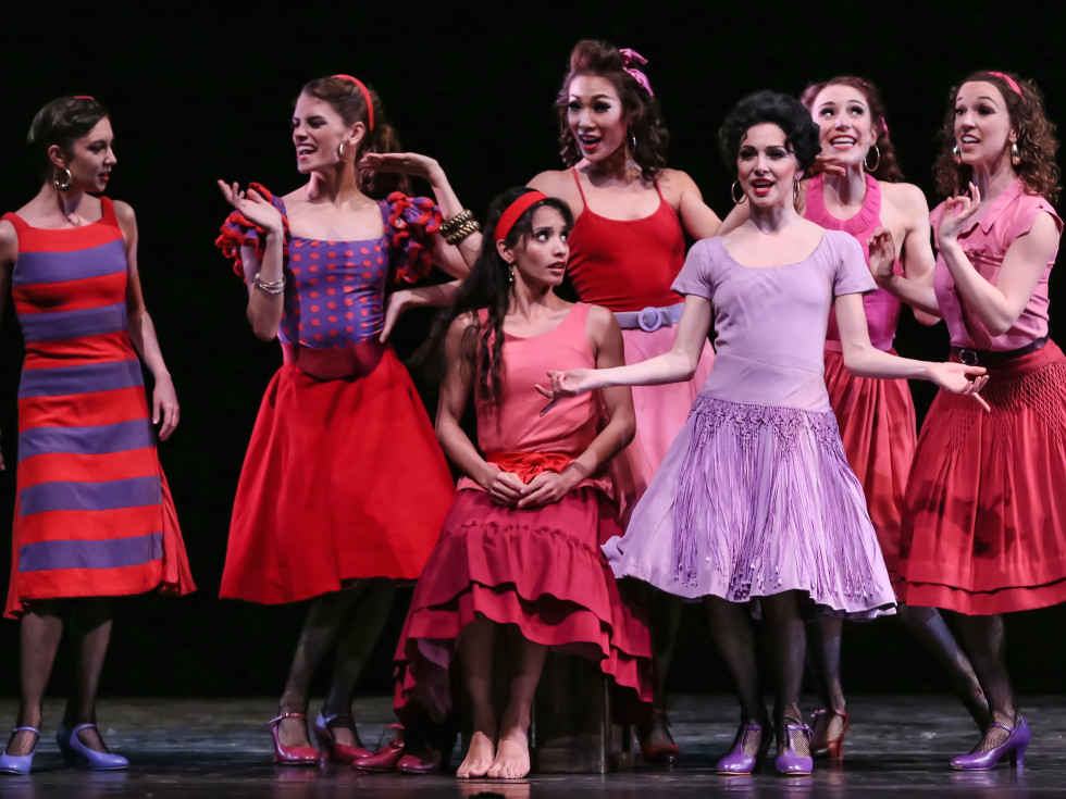 Houston Ballet West Side Story Suite,  artists of the Houston Ballet