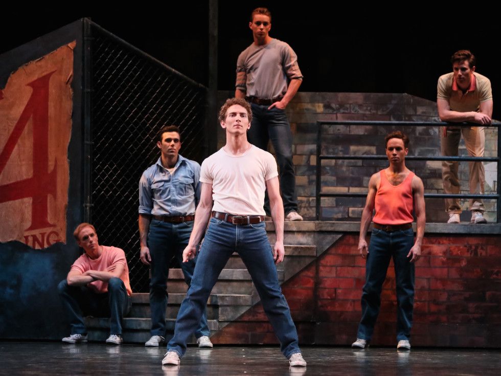 Houston Ballet West Side Story Suite, Rhodes Elliott and artists of the Houston Ballet