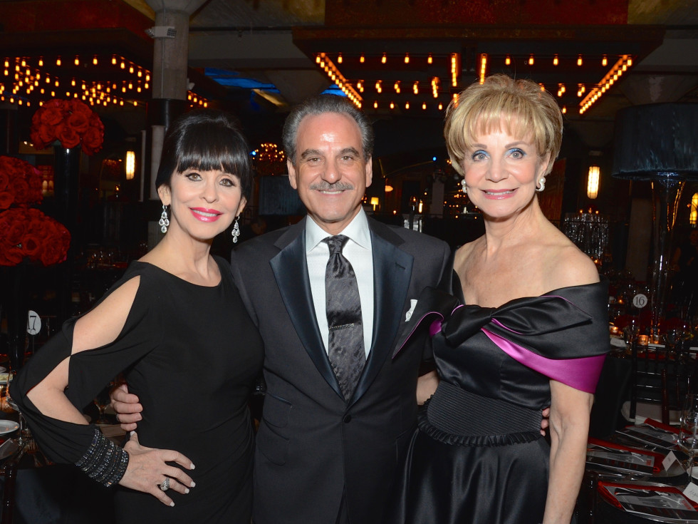 Sandra Porter, Rudy Festari, Leisa Holland-Nelson at Stages Gala