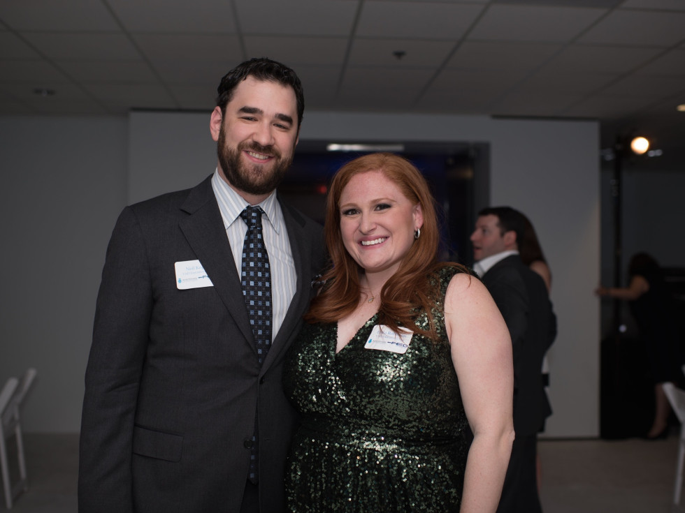 Neil Kogut and Erica Robinson (YAD Legacy Co-Chairs)