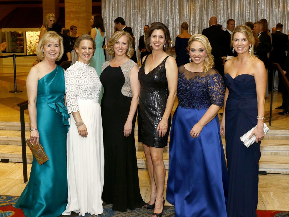 Christie Carter, Bonner Allen, Meredith Camp, Susan Jenevein, Meredith Mosley, Julie Bagley