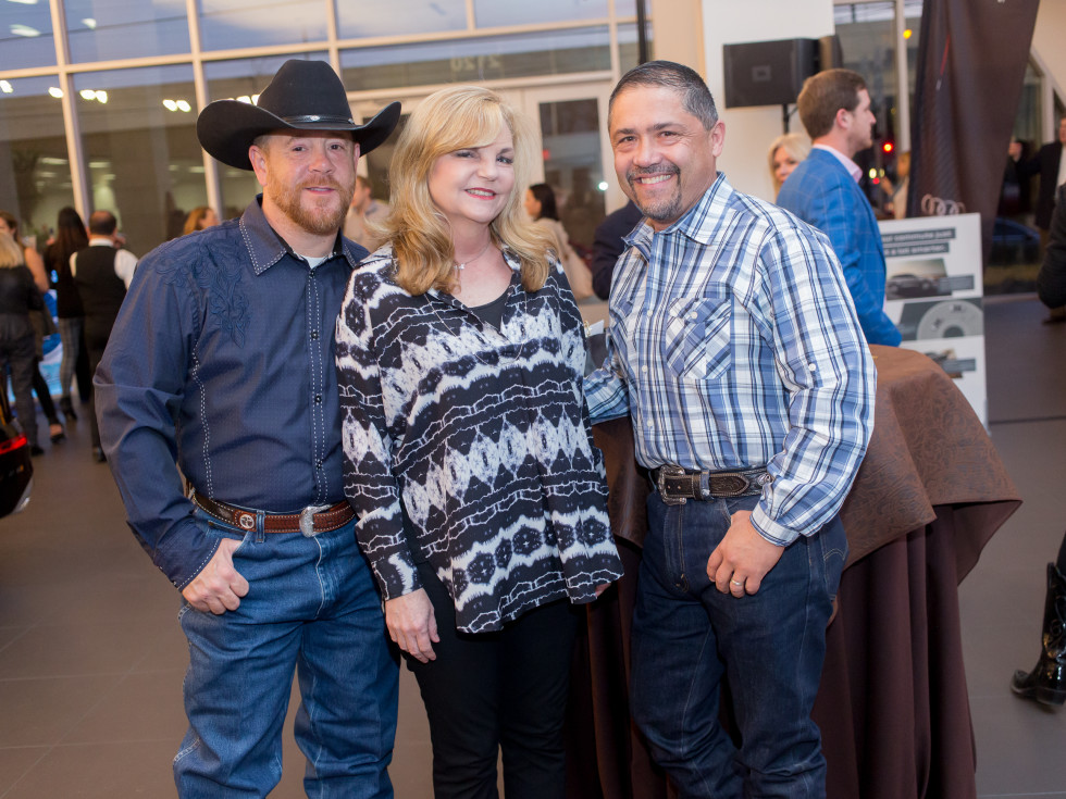 Cattle Baron's Fashion Show, March 2016, Shelby Kibodeaux, Kim Padgett, Bruce Padilla