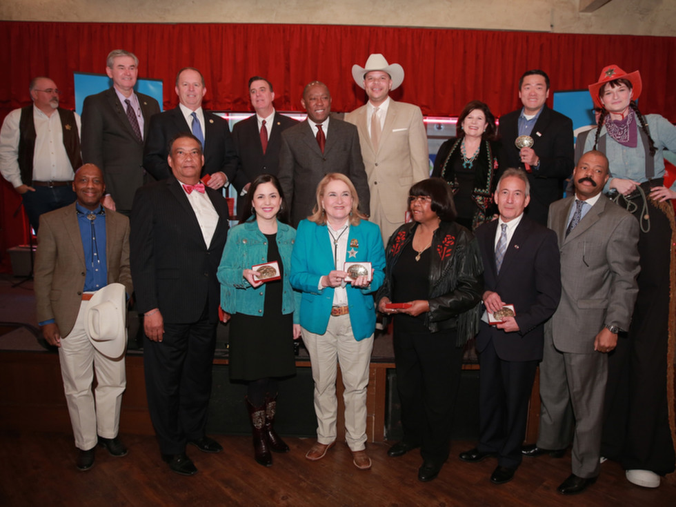 Members of Texas legislature at Mayor's Rodeo Kickoff Breakfast