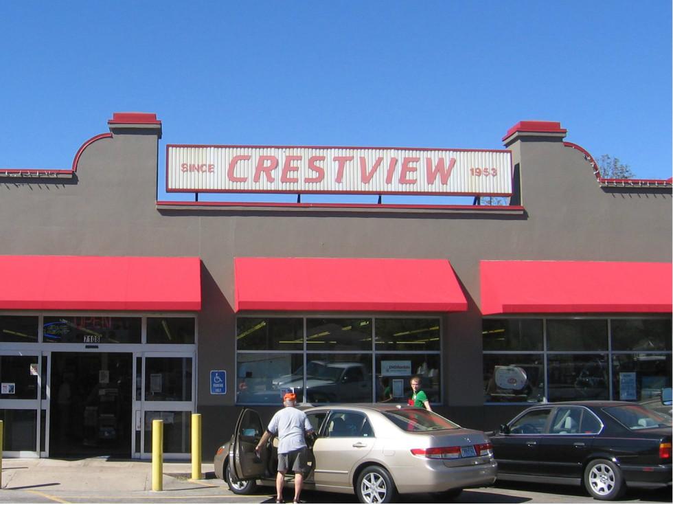 Crestview Minimax IGA grocery store North Austin