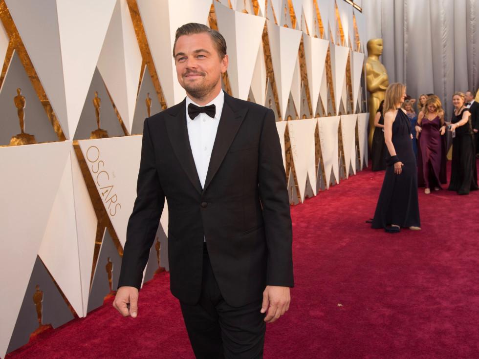 Leonardo DiCaprio at Oscars