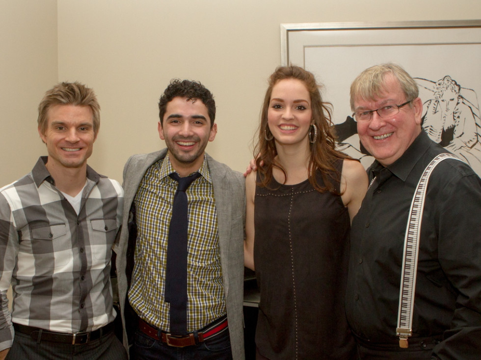UT Music Fundraiser Timothy Boaz, Christopher Montalvo, Emma Center, Marshall Maxwell