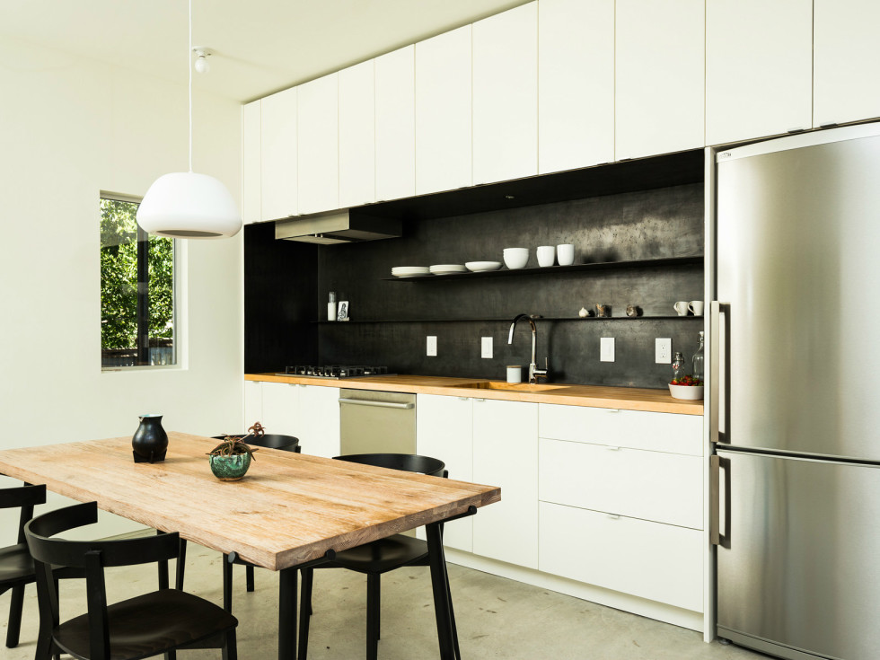 2016 Austin Modern Home Tour house 806 Lincoln Street Moontower Design Build kitchen