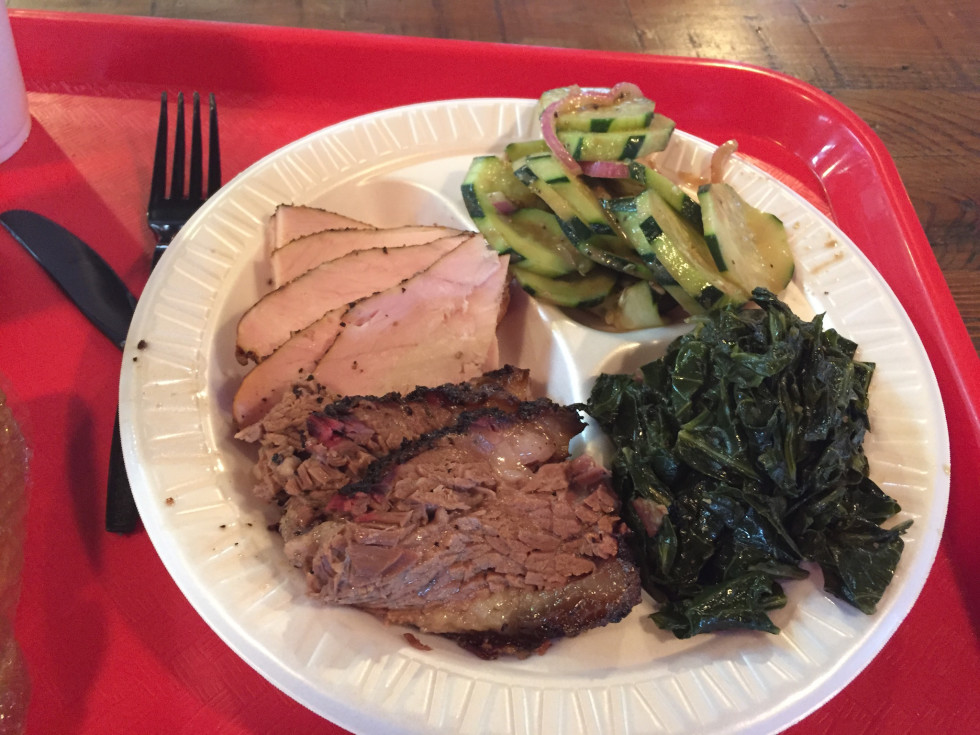 Roegels Barbecue combo plate