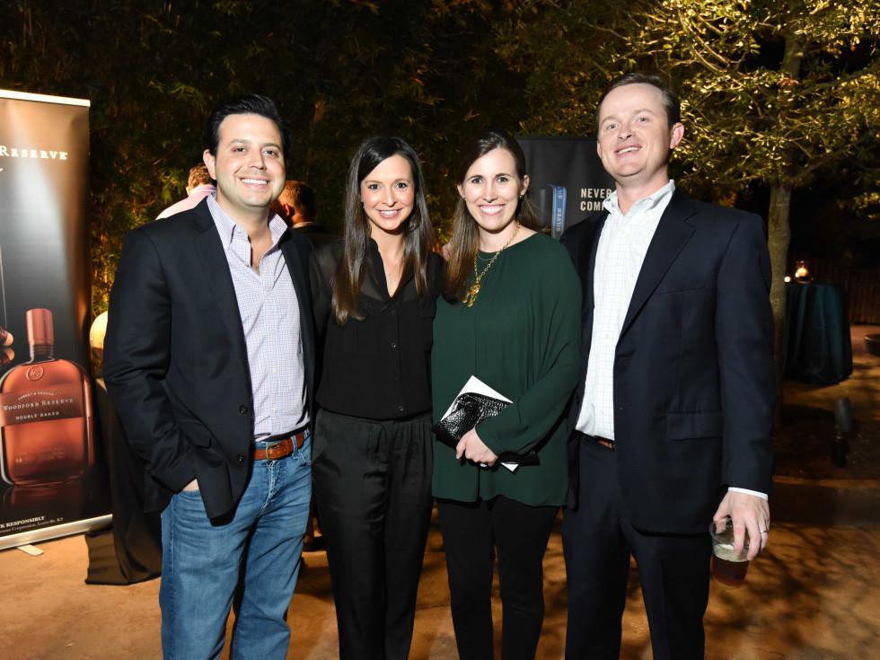 Houston Zoo Ambassadors Gala Adam and Kelly Tepper, Billy and Brooke O'Neil