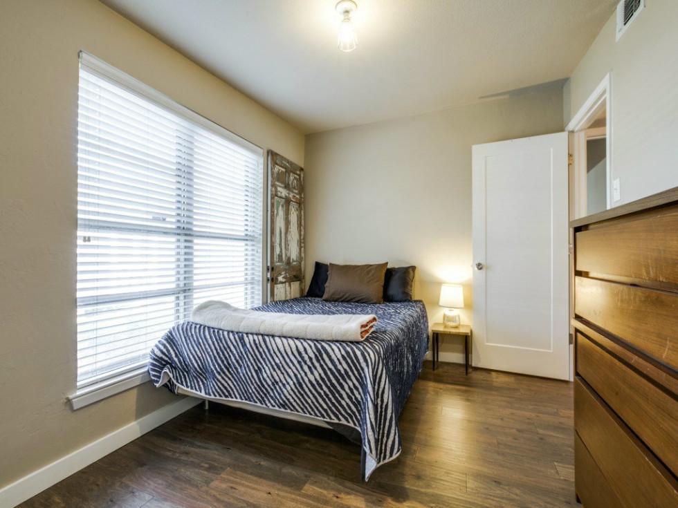 Dallas, home for sale, 936 peavy road, bedroom