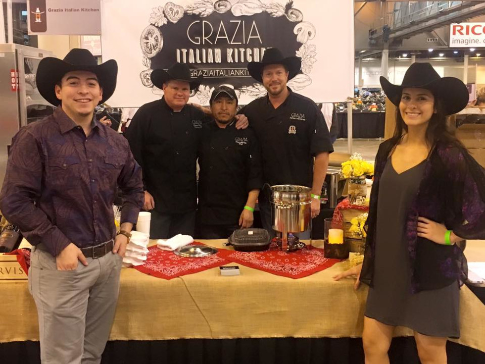 Grazia Italian Kitchen Rodeo Uncorked Best Bites 2016