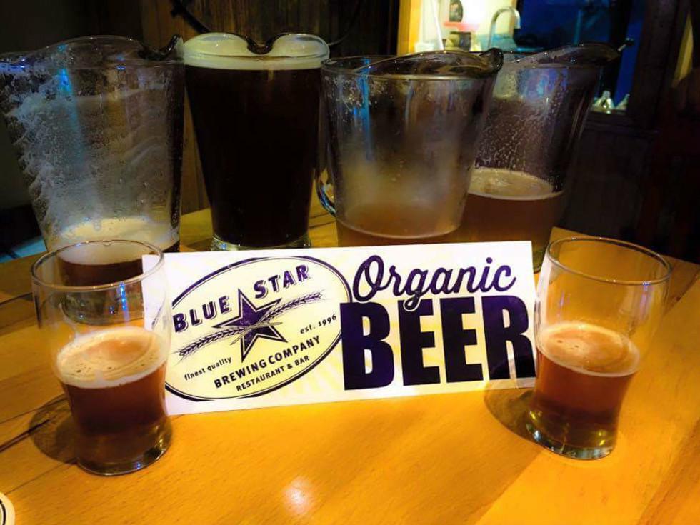 Blue Star beer