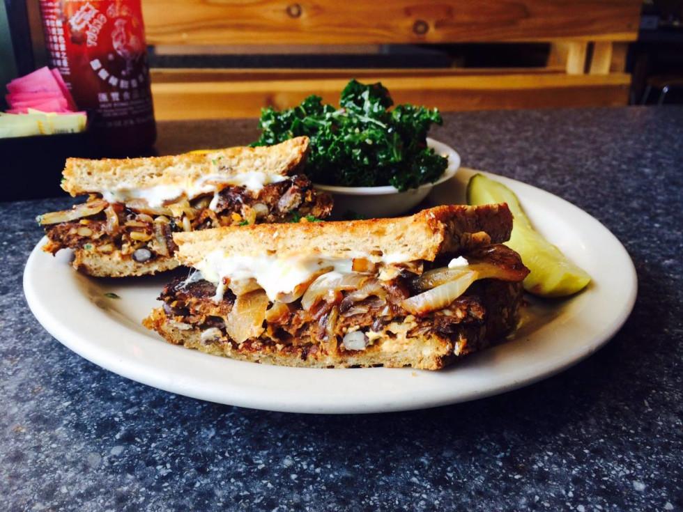 Green Vegetarian Cuisine San Antonio Sandwich
