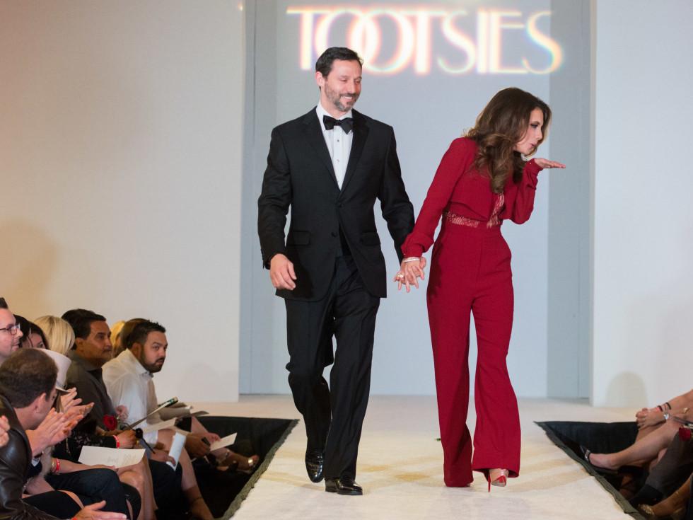 Tootsies Love's In Fashion, Feb. 2016, Brad Marks Joanna Marks