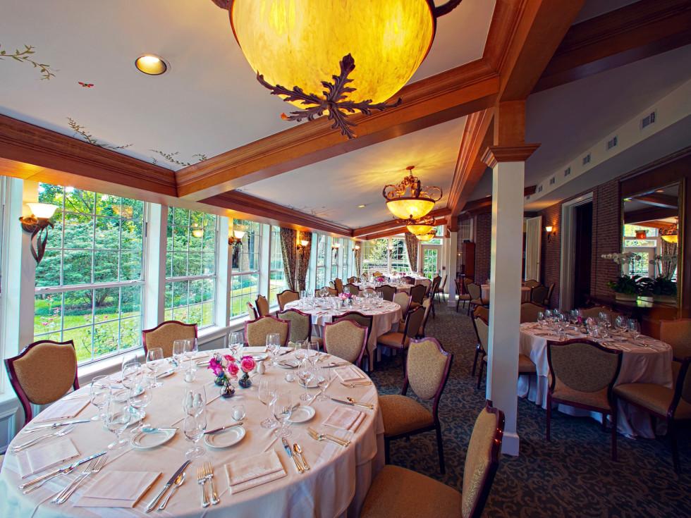 Manor House Houstonian Hotel dining room