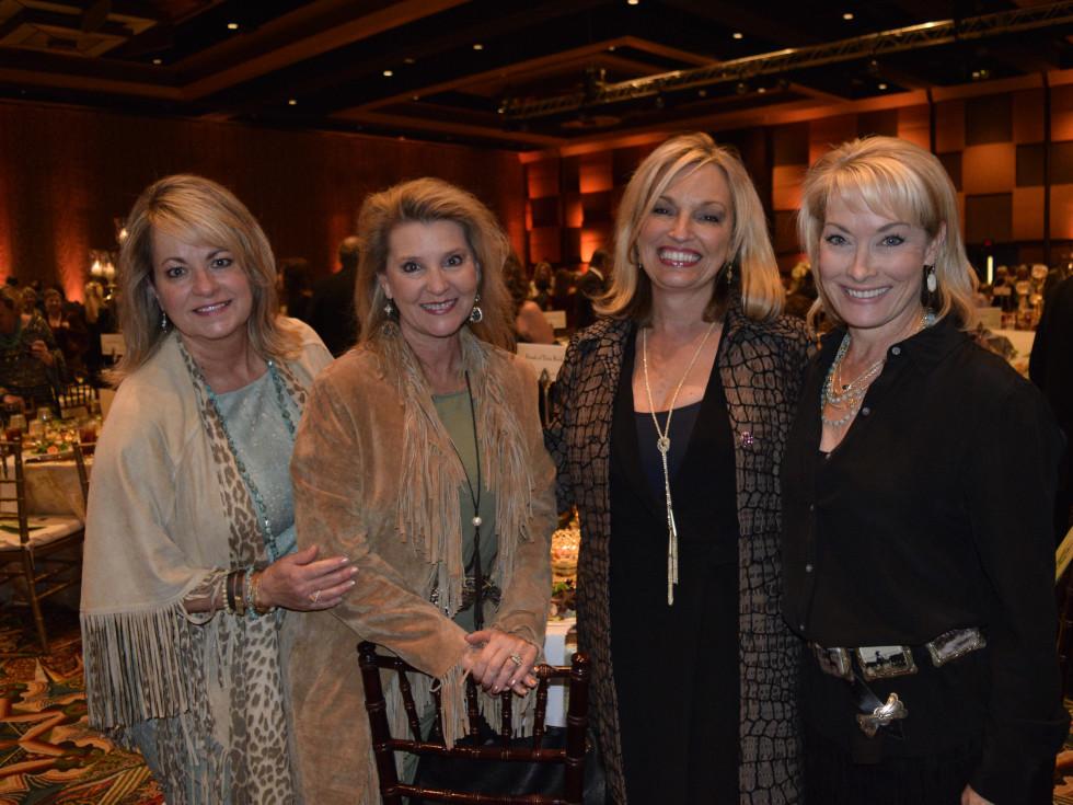 Trailblazer Awards, Feb. 2016, Crystal Northcutt, Lynn Kiesewetter, Debby Young, Arlene Hinsley