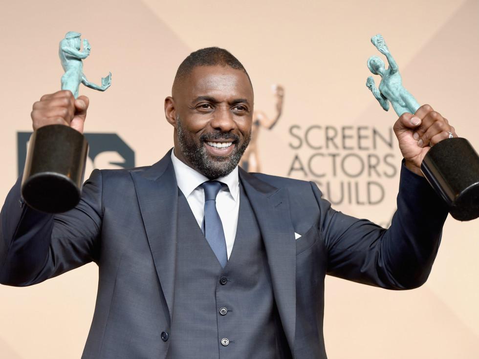 Idris Elba at Screen Actors Guild Awards