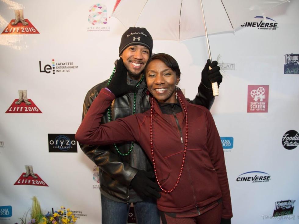 Jeryll Prescott and Chris Green from Birth of a Nation at Sundance Louisiana Film Celebration