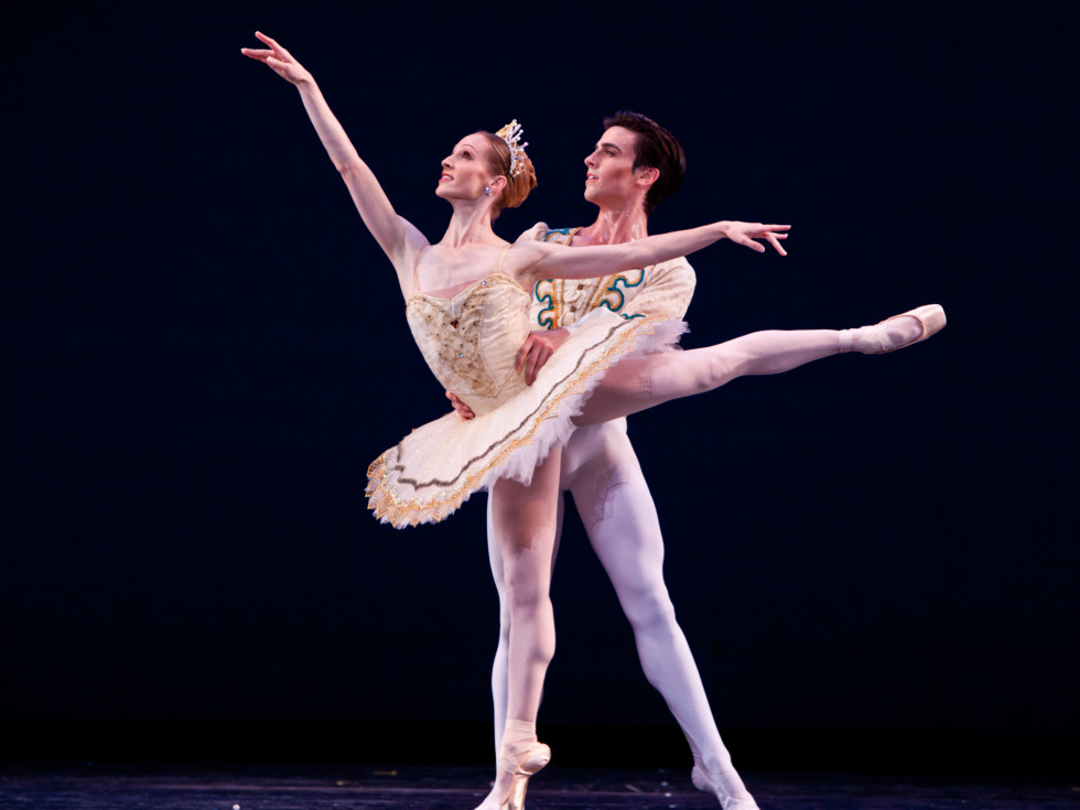 Houston Ballet George Ballanchine Theme and Variations, Sara Webb, Joseph Walsh