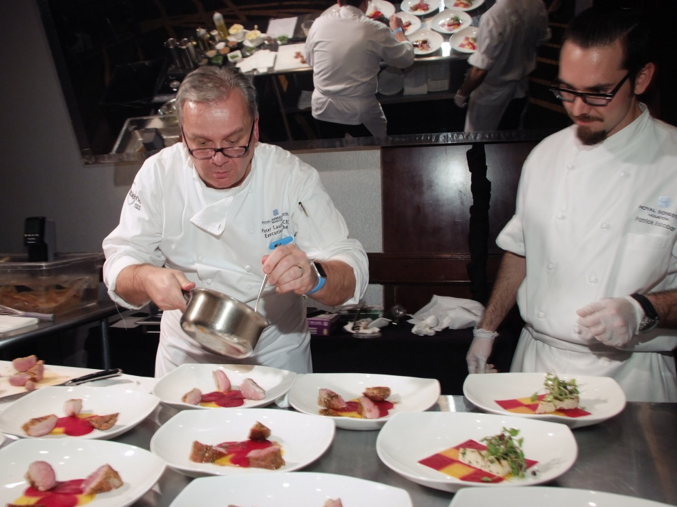 Bon Vivant Chef Dinner, Jan. 2016