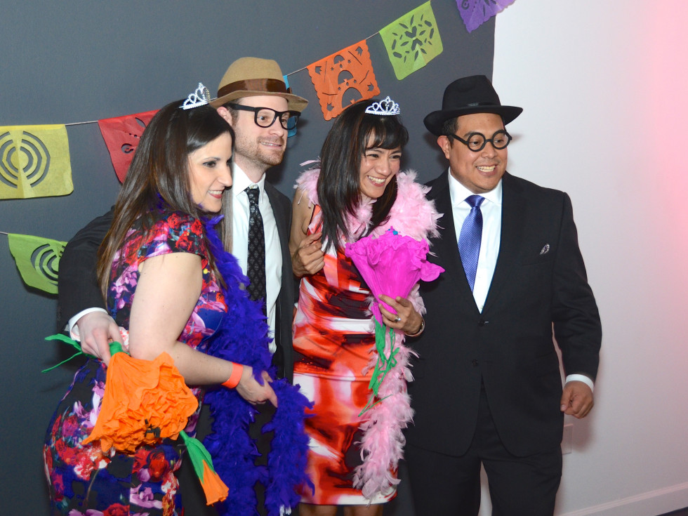 Center for Contemporary Craft, Margarita Madness, Jan. 2016, Erika Garza, Michael Loomis, Adriana Tristan, and Mark Alcocer
